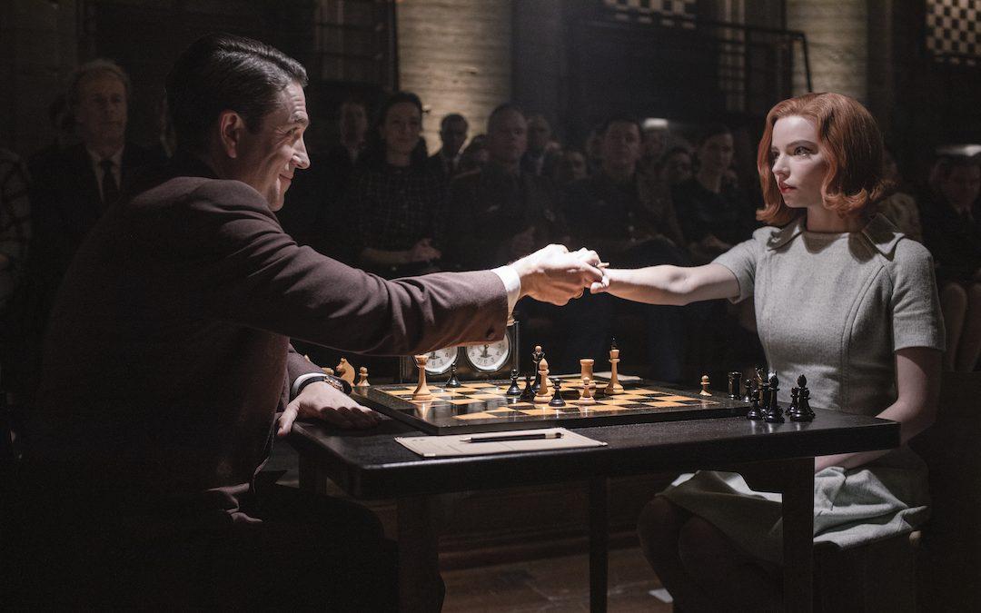 Queens Gambit chess match