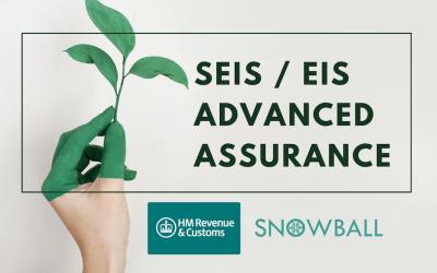SEIS / EIS Advanced Assurance Scheme