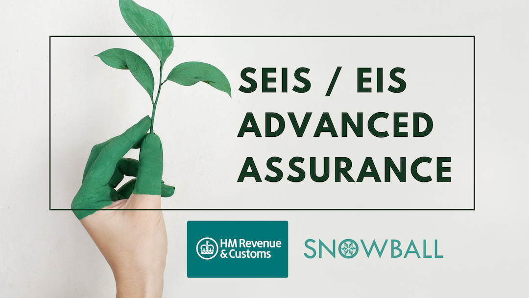 SEIS / EIS Advanced Assurance Scheme